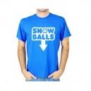 Tričko s krátkym rukávom - modré